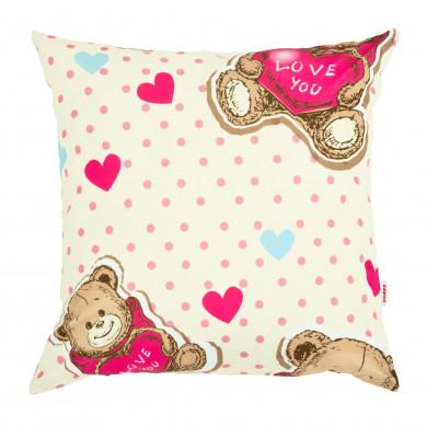 Cuscino per bambini orsetto