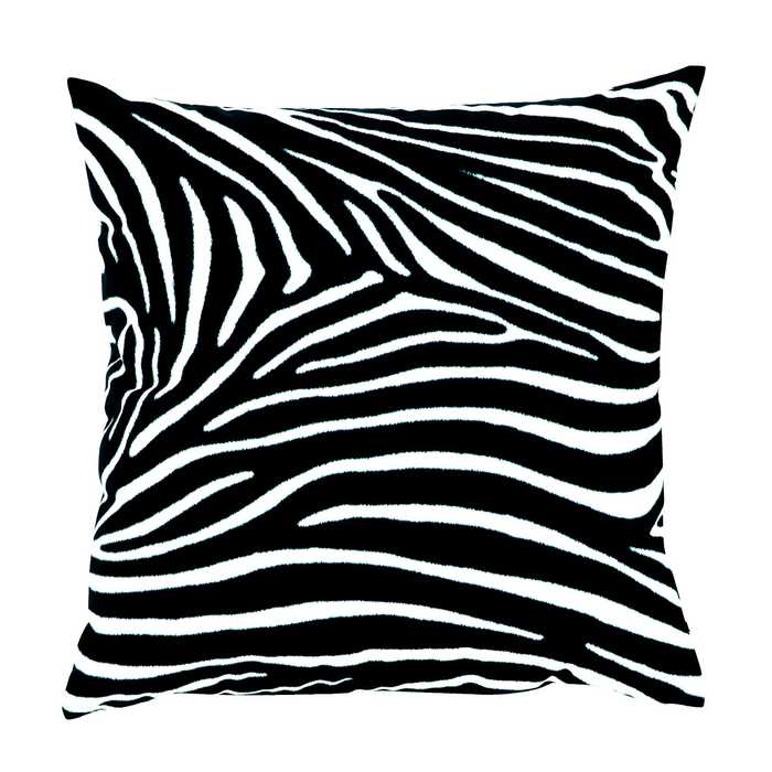 Cuscino decorativo zebra