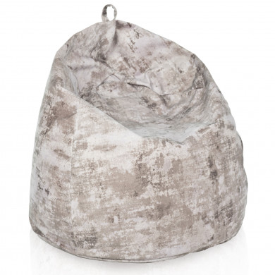 Pouf sacco marmo