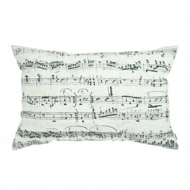Cuscino decorativo musica