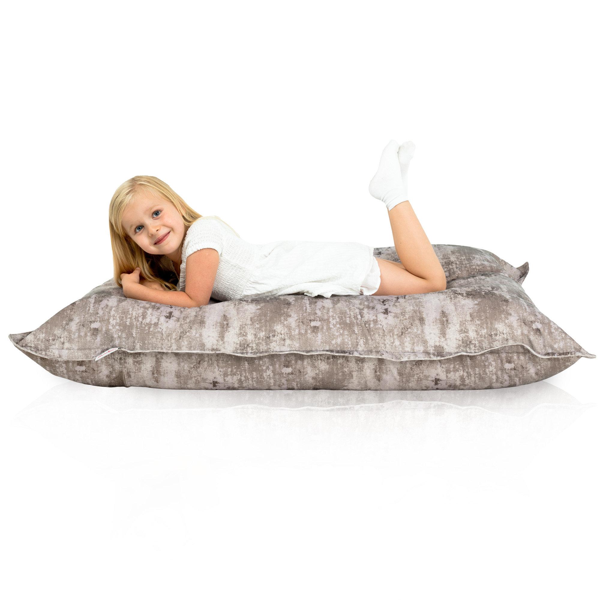 Pouf sacco per bambini il tessuto innocuo ai bambini - Sacco letto per bambini ...