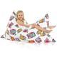 Cuscino gigante per bambini gufo
