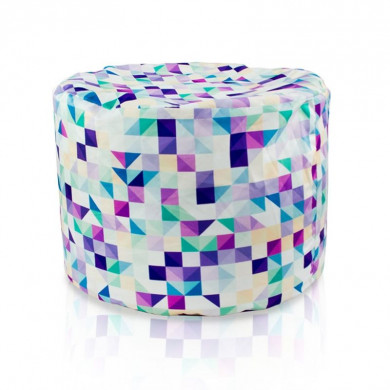Pouf 3d cilindro