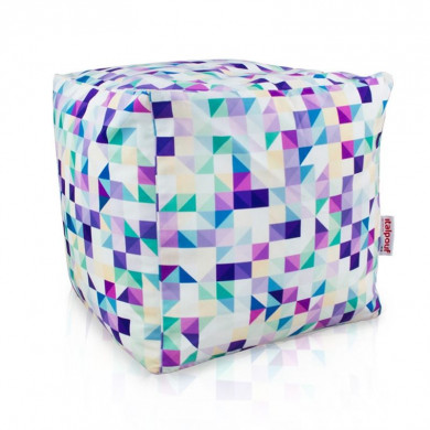 Pouf 3d cubo