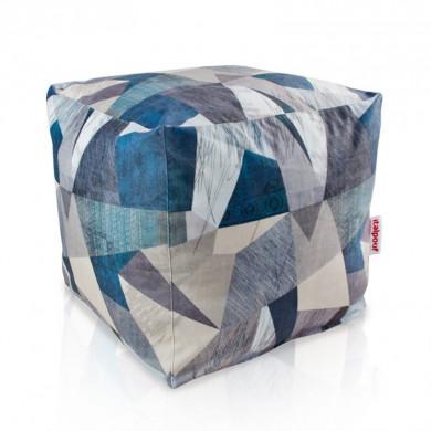 Pouf moderno astratto cubo