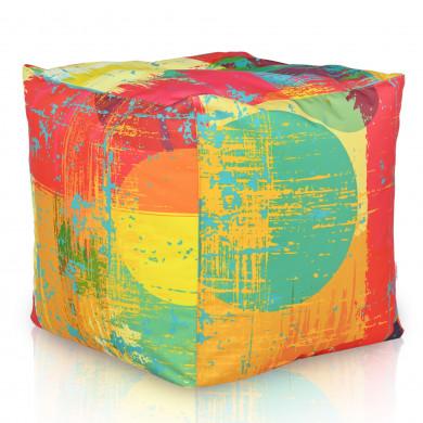 Pouf moderno fresh cubo