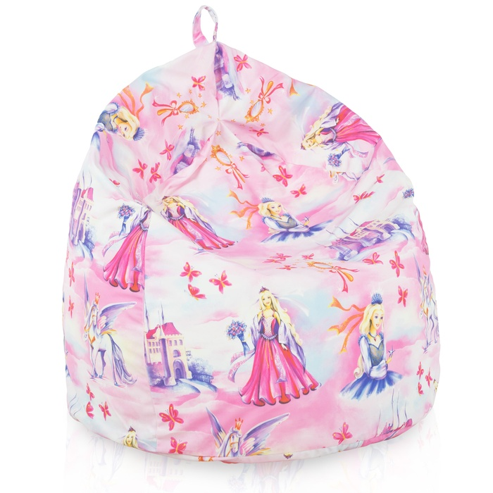 Pouf sacco per bambini princess