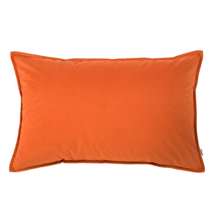 Cuscini Arredo Rettangolari.Cuscino Arredo Arancione Rettangolare Cuscino Moderno Da Salotto