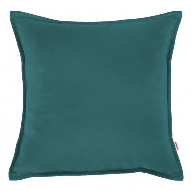 Cuscino Quadrato Blu Azzurro Morbido