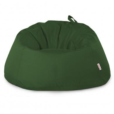 Verde Scuro Pouf Seduta Sacco Esterno XXXL