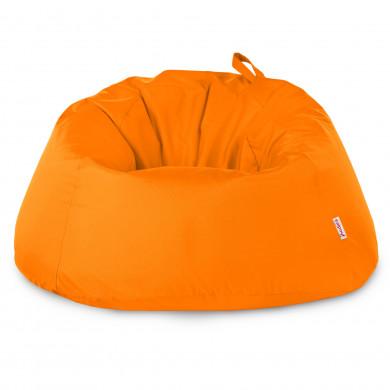 Arancione Pouf Seduta Sacco Esterno XXXL Balcone