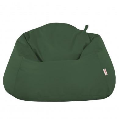 Verde Scuro Pouf Sacco Poltrona XXXL Per Interni