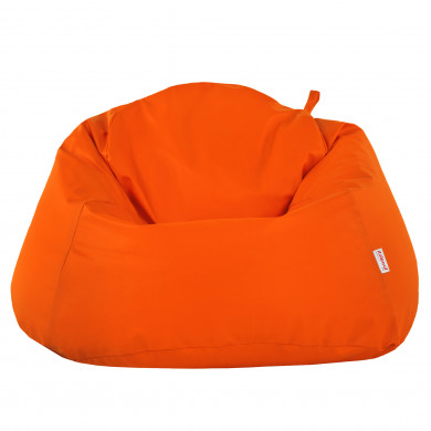 Arancione Pouf Sacco Poltrona XXXL Moderno