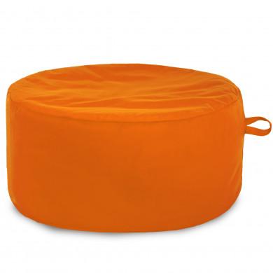 Arancione Pouff Tessuto Morbido per Ragazzi