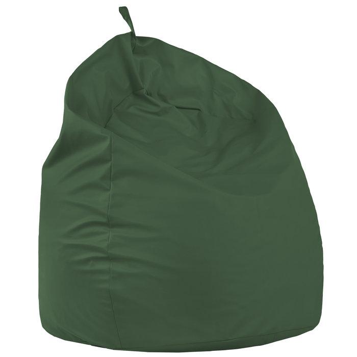 Pouf sacco gigante xxl verde poltrona. Pouf a pera in ecopelle salotto