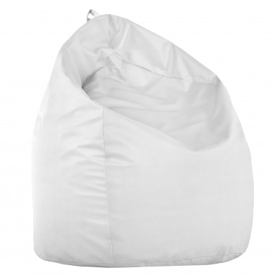 Pouf Sacco Bianco Seduta Poltrona