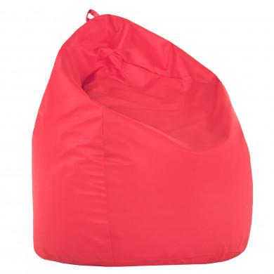 Pouf Sacco Rosa Per Bambini Ecopelle
