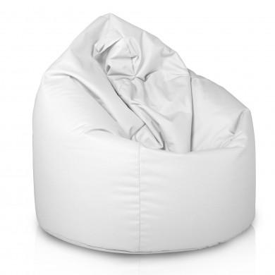 Pouf Sacco Bianco Nylon