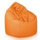 Pouf Sacco Grande Arancio Outdoor
