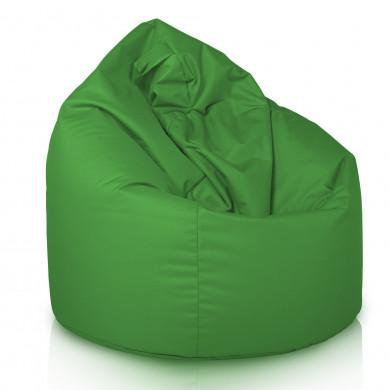 Pouf Sacco Esterno Verde Puff Outdoor