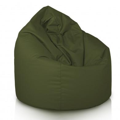 Pouf Sacco Outdoor Verde Scuro Puff