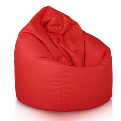 Pouf Sacco Poltrona Rosso Esterno