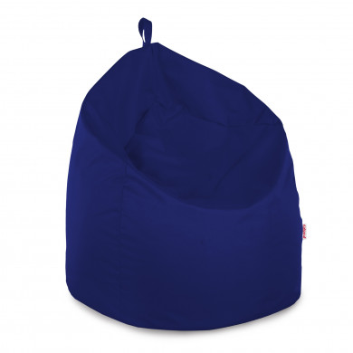 Pouf Sacco Gigante Blu Esterno