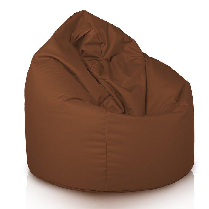 Pouf Sacco Fagiolo Cacao Esterno Marrone