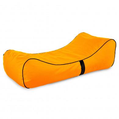 Arancione Lettino Da Spiaggia Morbido