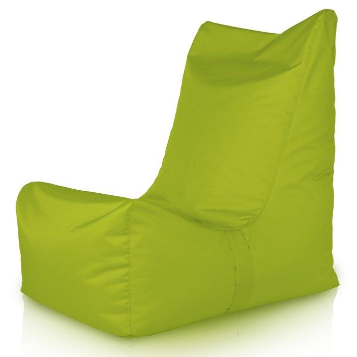 Poltrona Verde Acido.Poltrona Da Giardino Verde Acido Per Ragazzi Pouf Grande Da Terrazza