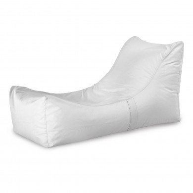 Bianco Chaise Long Moderno Letto