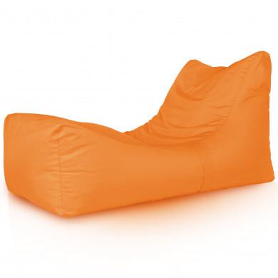 Arancione Chaise Long Poltrona