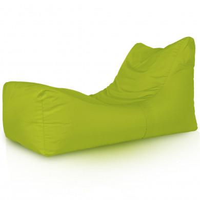 Verde Acido Chaise Long Imbottito