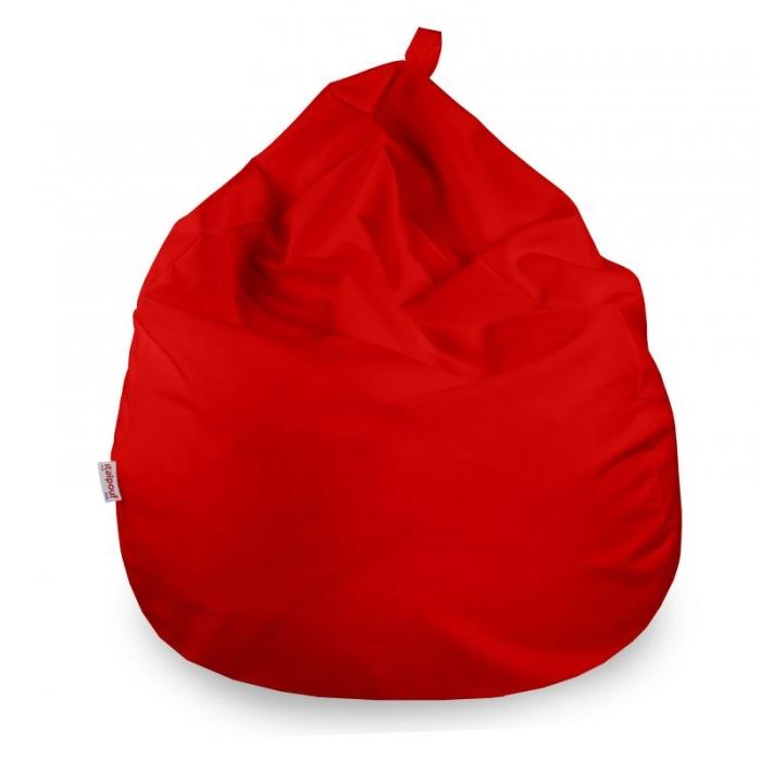 Poltrona pouf sacco morbido. Pouf in microfibra per bambini e ragazzi