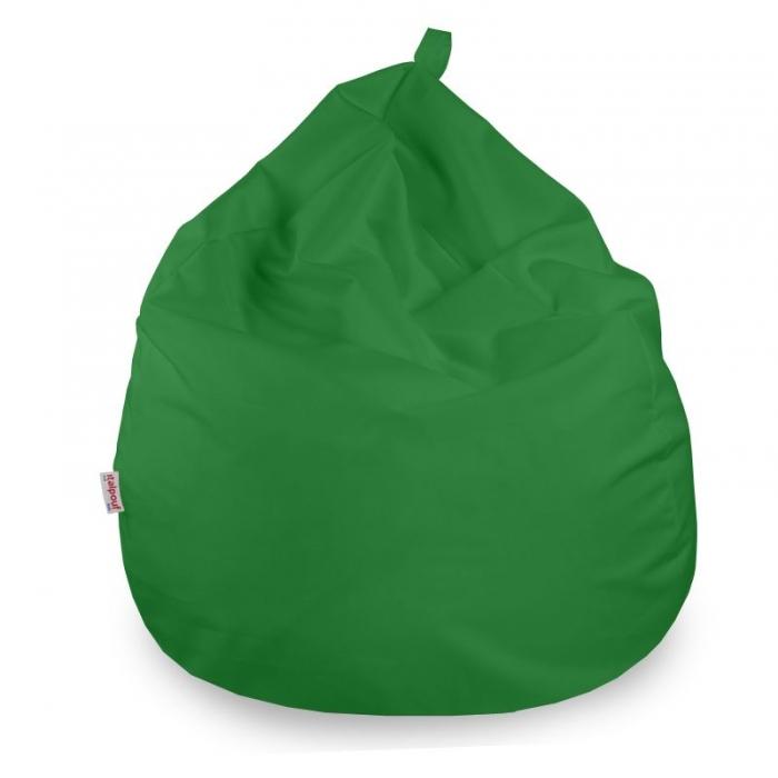 Poltrona pouf sacco morbida. Pouf da salotto, per bambini e ragazzi