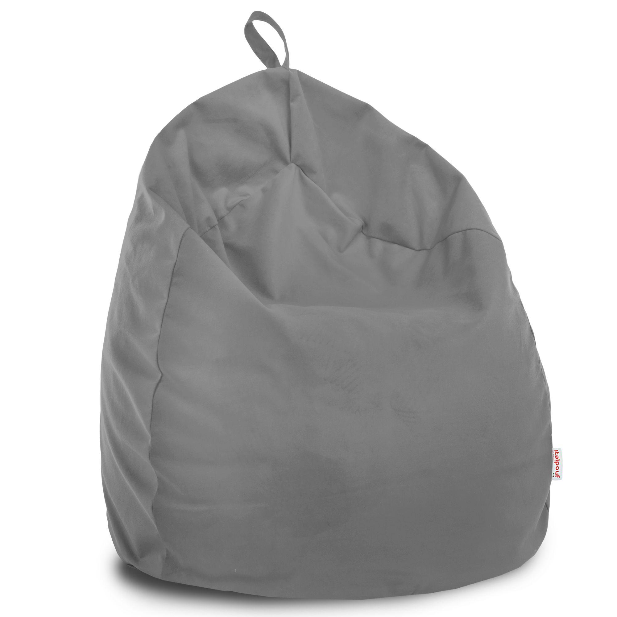 Poltrona sacco moderna per bambini pouf sacco pera gufo for Poltrona bambini