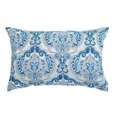 Cuscino rettangolare Motivi Orientali Azzurro